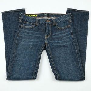 J. Crew Matchstick Dark Wash Skinny Jeans, Sz 27R